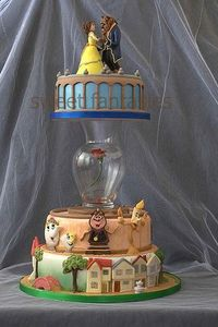 the most amazing cake ever! love beauty and the beast! http://media-cache1.pinterest.com/upload/241294492505349787 71wamaww f.jpg branchelle cake designs