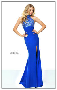 Sherri Hill 50841 Jersey Beaded Hot Sale Formal Dress For Prom