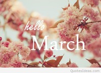 Nice pic quote Hello march