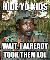 See more 'Kony 2012' images on Know Your Meme!