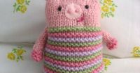Looking for your next project? You're going to love Knook Piggy Pattern by designer Amy Gaines.