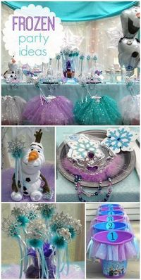 Linda My Princess Party To Go 's Birthday / Disney Princess - Frozen Princess Party - Queen Frostine at Catch My Party