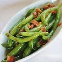 Quick Zesty Green Beans I have beans.. And I have pecans! Sounds like part if tonight's supper!