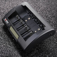 LCD NiMH Battery Charger EU Plug Charger Smart Charger For AA AAA C D 9V