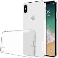 Nillkin Protective Case For iPhone XS Max Clear Transparent Anti Slip Soft TPU Back Cover