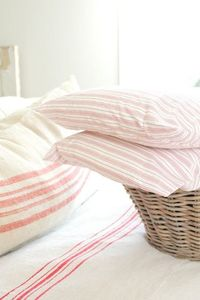 floor cloths, stripe pattern and ticking stripe.
