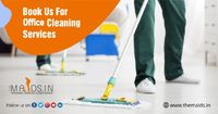 Get the office cleaned by a professional office cleaning services. You can choose our services by one click https://www.themaids.in/index.php