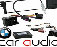 T1 Audio BMW 3 Series E46 1998 - 2005 Car Stereo Radio Fascia Panel, Aerial Adaptor