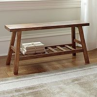 Wood Accent Storage Bench - jcpenney