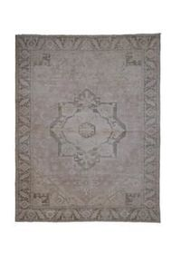 "Vintage Handknotted Floor Rug Neutral Colors Oversized Rug 8'4"" X 10'8"""