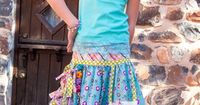 Urban Cowgirl Skirt Pattern by Pink Fig design $10