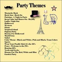 Bunco: Party themes