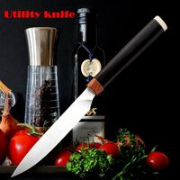 Utility Knife Kitchen Knives Cooking tools Tomato knife ILS110.00
