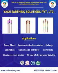 Looking for the best earthing solutions? Yash earthing solutions is your one-stop solution Call us today:- 9370335298 / 8806172890