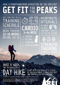 Have a mountaineering expedition on the horizon? Start training now.
