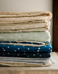 Polka Dot LapDuvets! - The Purl Bee - Knitting Crochet Sewing Embroidery Crafts Patterns and Ideas!