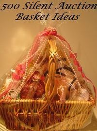 If you are looking for some silent auction basket ideas, here are 500 ideas for basket themes and fun names for your auction baskets. Browse hundreds of auction