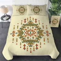 Geometric Native American Bedclothes Aztec 3pcs $72.00