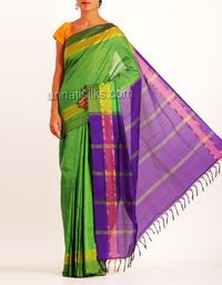 online shopping for handloom poly cotton sarees are available at www.unnatisilks.com