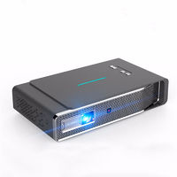 Toumei V5 Intelligent DLP Projector 1280*800dpi 3800 Lumens 3D Full HD 1080P 4K Decode Wireless Same Screen LED Projector Home Theater Cinema 2GB+16GB