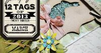 March Tag from Tim Holtz