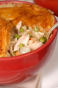 Weight Watchers Chicken Pot Pie 6 servings=4.5 points. 4 servings=6.5 points.