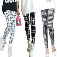 Plaid Patterned Leggings $21.99