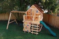 Seattle Swing Set, Playhouse of Washington: Swing sets Playhouses.... I really want something the kids can sleep in outback during the nice night during sleepovers