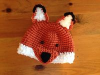 Ravelry: Woodland Fox & Wolf Hat pattern by Crochet by Jennifer (~$NZ6.10)
