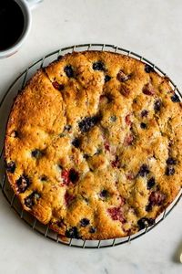 Softer and more fruit-filled than a coffeecake, but with a higher percentage of buttery batter than a cobbler, buckles are harder to classify than they are to m