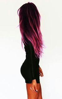 .ombre purple hair with highlights, beautiful!