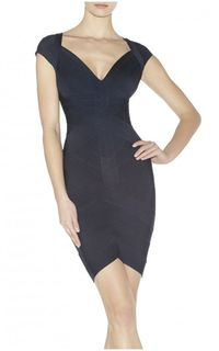 Kate Angled Bandage Dress Wholesale