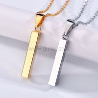 Engraved Bar Couple Promise Necklaces Gift https://www.gullei.com/engraved-bar-couple-promise-necklaces-gift.html