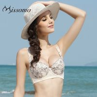 Vogue Sexy Embroidery Slimming Lift Up Floral Underwear Bra - Bonny YZOZO Boutique Store