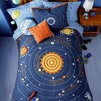 Outer Space Bedding - Solar System Comforters and Quilts