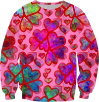 Heart Collage Sweatshirt $59.95