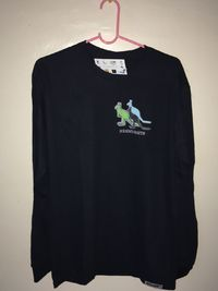 3Kangaroos hrhmvmnts edition Womens Cotton Long Sleeve TShirt by ALNBRANDS $15.99
