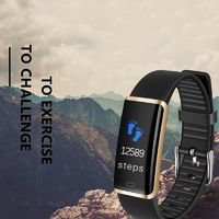 R9 HD Color Screen Smart Wristband Heart Rate Blood Pressure Monitor Camera Control Smart Watch