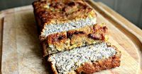 Perfect Paleo Banana Bread {Recipe}--This was soo good. I doubled the recipe, using 3 bananas instead of 2 and added chopped pecans to the batter. I made them into muffins instead of a loaf. Even my husband ate them willingly. He said it was the first glu...
