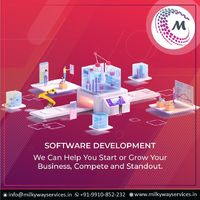 We can help you start or grow your business, compete and standout. Through our custom software development innovations. Get your websites, applications developed today. For more information about service visit our site right now- https://www.milkywayserv...