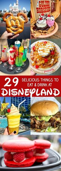 One of my favorite things to do at Disneyland is to look for fun new foods to try and photograph. After I shared my first list of 29 Amazing Things to Eat and D