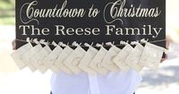 Look at this 'Countdown to Christmas' Personalized Wall Sign on #zulily today!