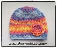 349b1ee8d3a Crochet Baby Chemo Cap - Dearest Debi Patterns