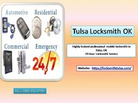 Locksmith Tulsa highly-trained professional mobile locksmith in Tulsa, OK. Professional assistance will help in rekeying or having an entirely new and updated security system.