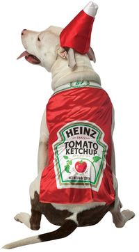 Cat & Dog Costume Heinz Ketchup Md $12.91 https://costumecauldron.com