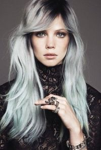 The long hairstyle has great layers cut round the sides and back and it is great for people with fine to long hair looking for a hairstyle to enhance a long fac