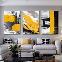 Abstract Acrylic Paintings On Canvas black painting original extra Large framed wall art texture painting palette knife cuadros abstractos $116.47