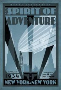 Retro Printable Posters from Pixar's Up �€� Animated Views