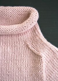 The Purl Soho Pullover in AlpacaPure - The Purl Bee - Knitting Crochet Sewing Embroidery Crafts Patterns and Ideas!