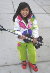 Tips on what to wear while skiing